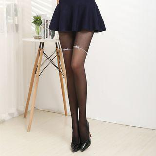 Bow Sheer Tights