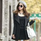 Slim-fit Zip Coat
