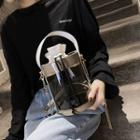 Transparent Drawstring Bucket Bag