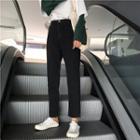 High Waist Slim-cut Jeans