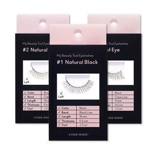 Etude - My Beauty Tool Eyelashes - 6 Types #03 Cat Eye