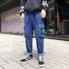 Plain Cargo Jeans