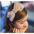 Patterned Bow Accent Headband