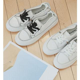 Banded Stitched Sneakers
