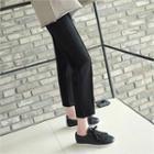 Band-waist Neoprene Pants