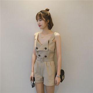 Double-breasted Playsuit