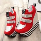 Platform Hidden Wedge Sneakers
