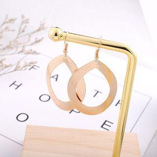 Copper Drop Earring Gold - One Size