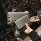 Tassel Faux Leather Wallet