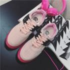 Lace-up Athlete Sneakers