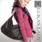 Genuine-leather Shoulder Bag