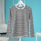 Stripe T-shirt As Shown In Figure - One Size