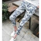 Camouflage Capri Tapered Pants