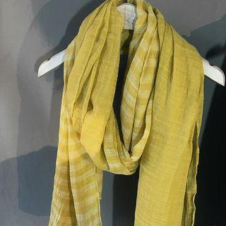 Stripe Linen Cotton Scarf