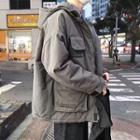 Utility Hooded Padded Jacket