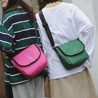 Couple Matching Lettering Messenger Bag