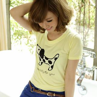Short-sleeve Patterned T-shirt