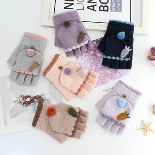 Carrot Fingerless Gloves