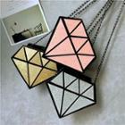 Diamond Shape Crossbody Bag