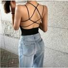Cropped Strappy Top