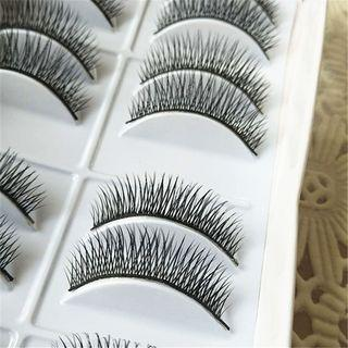 False Eyelashes #819 As Shown In Figure - One Size