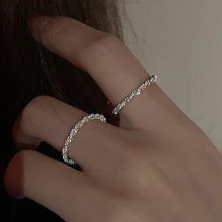 Alloy Ring White - One Size