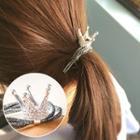 Crown Rhinestone Hair Tie