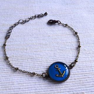 Copper Sailor Bracelet One Size