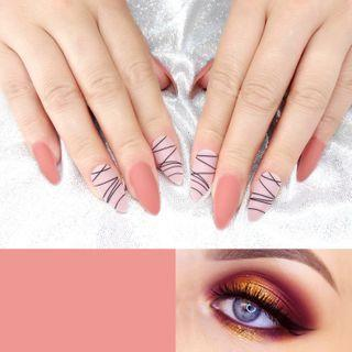 Pointed Faux Nail Tip 0055-103 - Glue - One Size