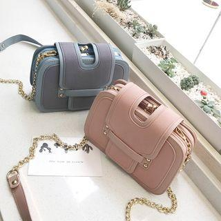 Chain Multi-section Crossbody Bag