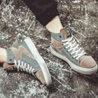 Genuine Suede High-top Sneakers