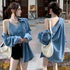 Denim Camisole Top / Shirt