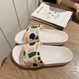 Platform Bathroom Slippers