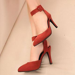Ankle-strap High-heel Sandals