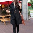 Shirred Blouse Black - One Size