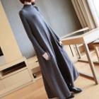 Mock Neck Knit Maxi Dress