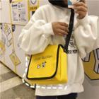 Printed Lightweight Messenger Bag