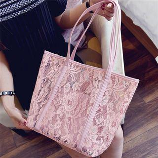 Lace Shopper Bag