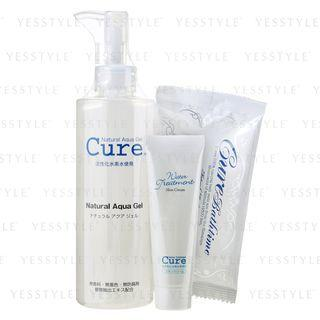 Cure - Natural Aqua Gel Skincare Set 3 Pcs