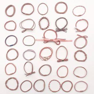 Set Of 30: Hair Tie (assorted Designs)
