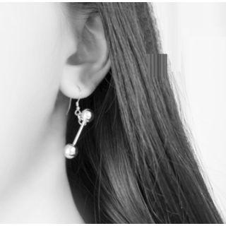 Metal Ball Drop Earrings