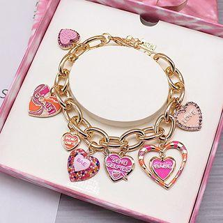 Alloy Heart Bracelet As Shown In Figure - One Size