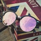 Vintage Half-frame Sunglasses