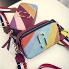 Color Block Mini Crossbody Bag