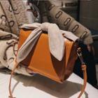 Ribbon Accent Crossbody Bag