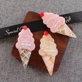 Acetate Ice Cream Hair Clip