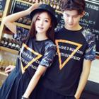 Couple Matching Camouflage Short-sleeve T-shirt