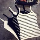 Plain / Striped Camisole Top