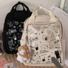 All Over Print Lightweight Backpack