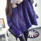 Melange Loose Fit Sweater